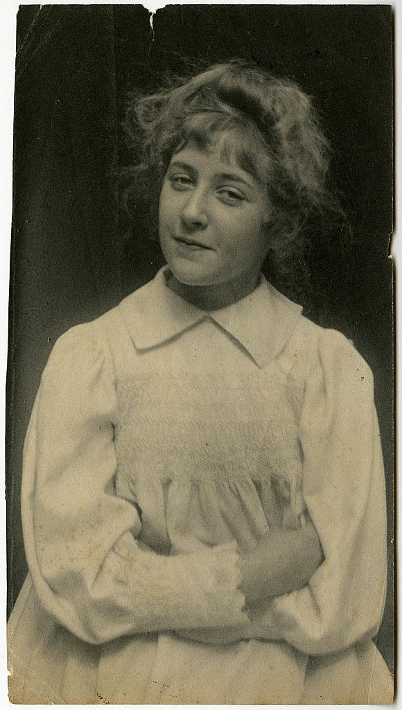 Young Agatha © The Christie Archive
