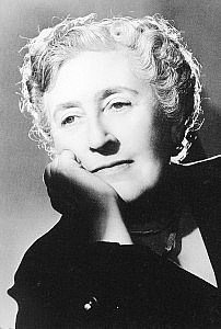 Dame Agatha Christie. Photo credit; The Christie Archive.