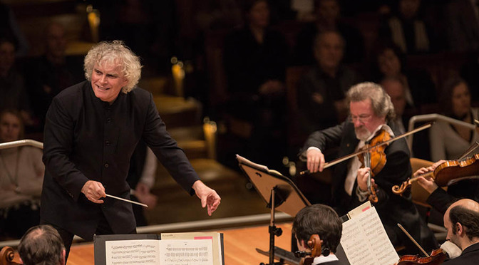 RATTLE DOES SIBELIUS IN BERLIN