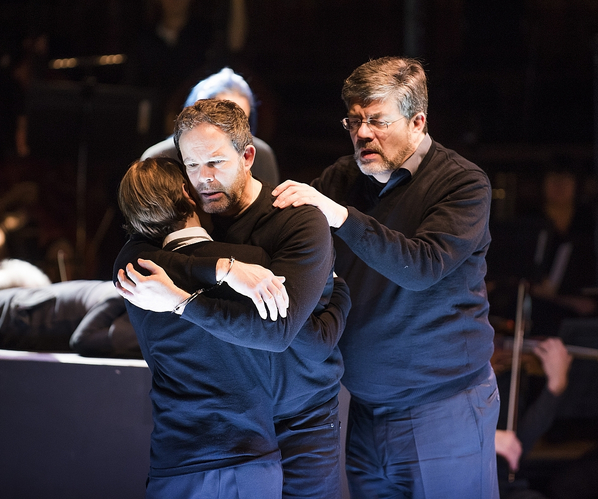 Peter Sellars' touchy/feely production of Debussy's opera Photo: Tristram Kenton