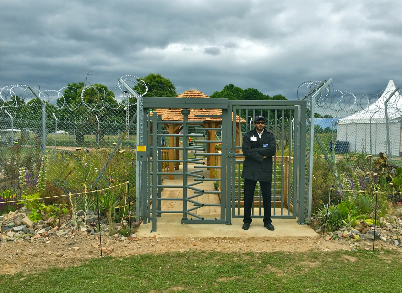 After Brexit all British gardens will be patrolled by armed guards