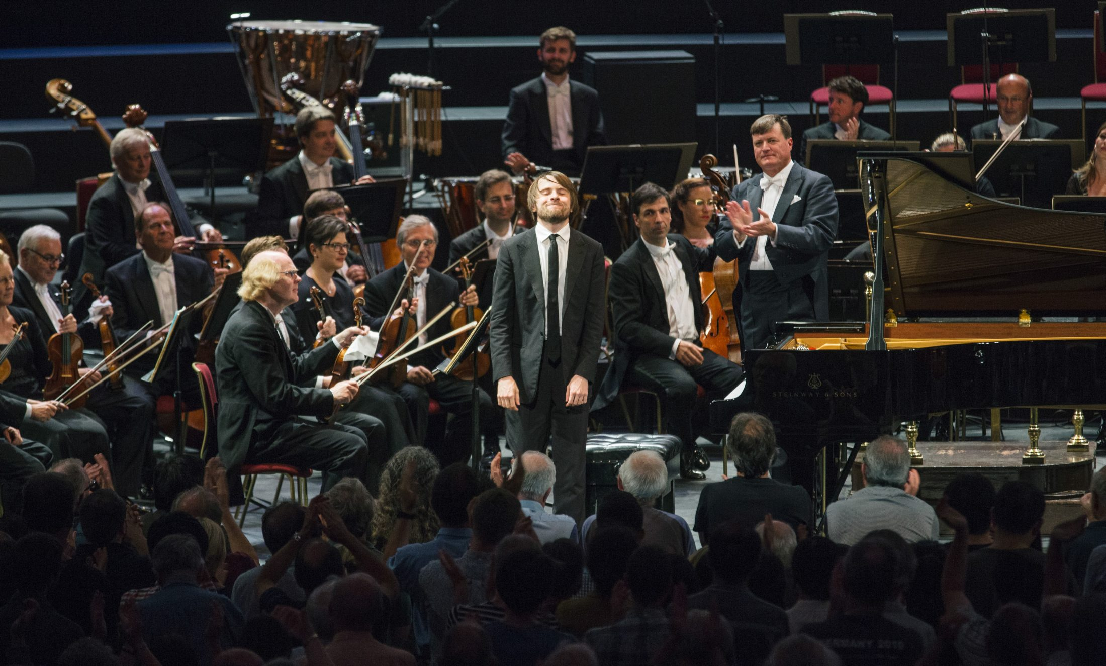 """Gastspiel der Staatskapelle Dresden am 07.09.2016 bei den """" BBC PROMS """" in der Royal Albert Hall in London / Grossbritannien . Foto: Oliver Killig"""