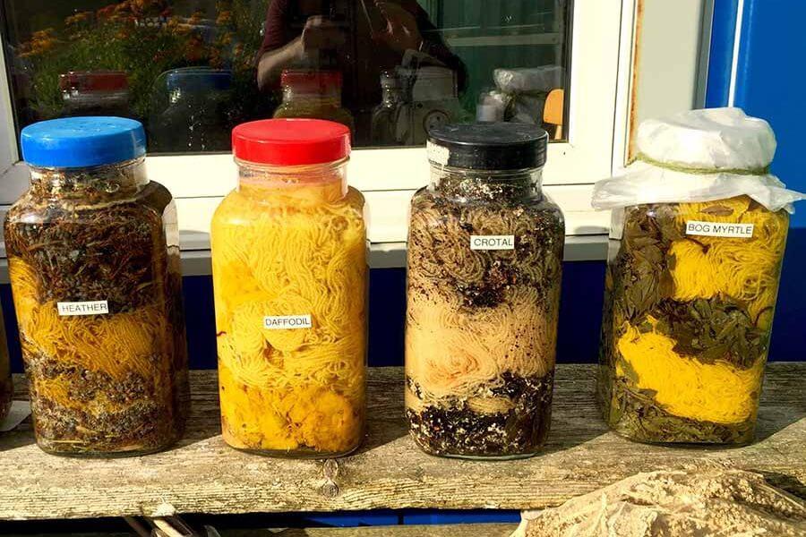 Organic dye, Ardalanish, Mull