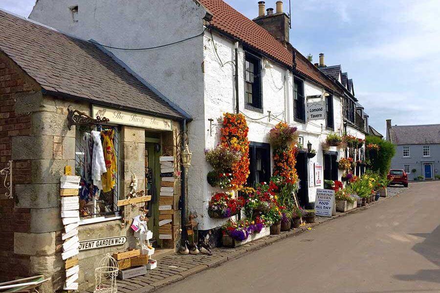 Backstreets of Falkand, Fife
