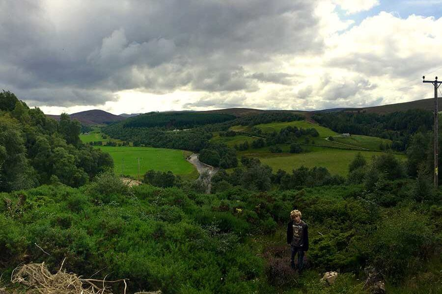 Queen's viewpoint, Tomintoul