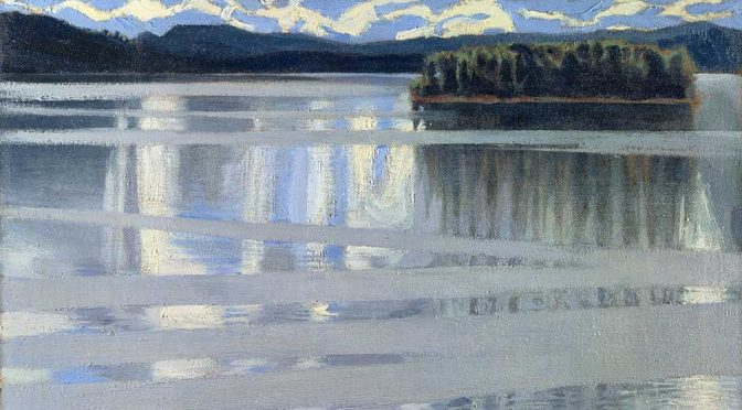 GALLÉN'S LAKE KEITELE AT THE THE NATIONAL GALLERY