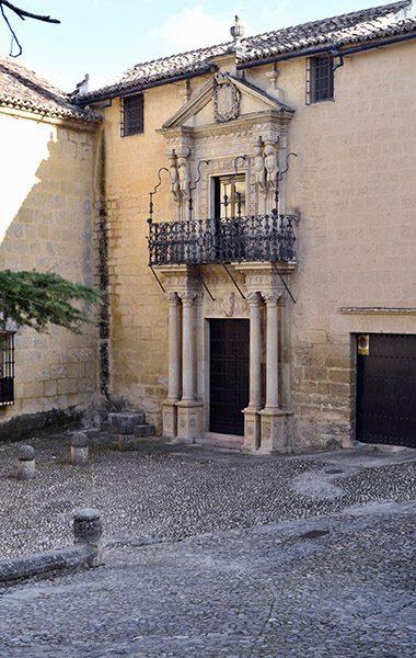 Palacio del Marqués de Salvatierra. Ronda Photos - mountaintop city in Spain's Malaga province.