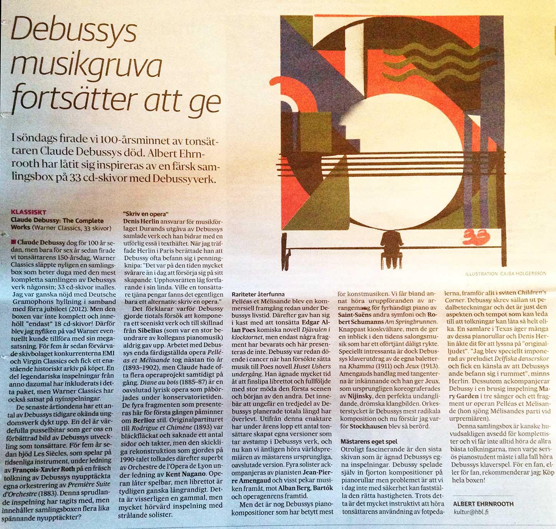 Debussys musikgruva fortsätter att ge